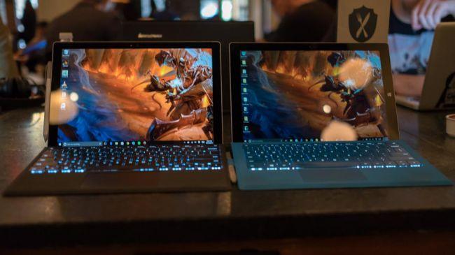 Microsoft Surface Pro 4 и Surface Pro 3