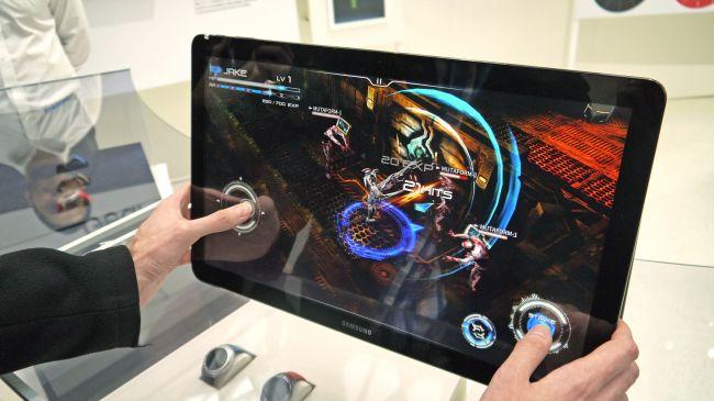 Игры на Samsung Galaxy View
