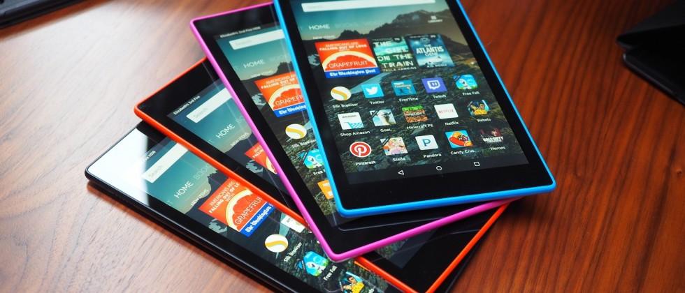 Недорогие планшеты. Amazon Kindle Fire 2015