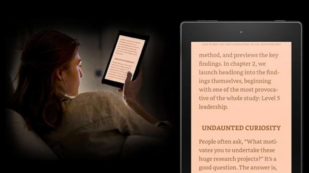 Обновление планшетов Amazon Kindle Fire