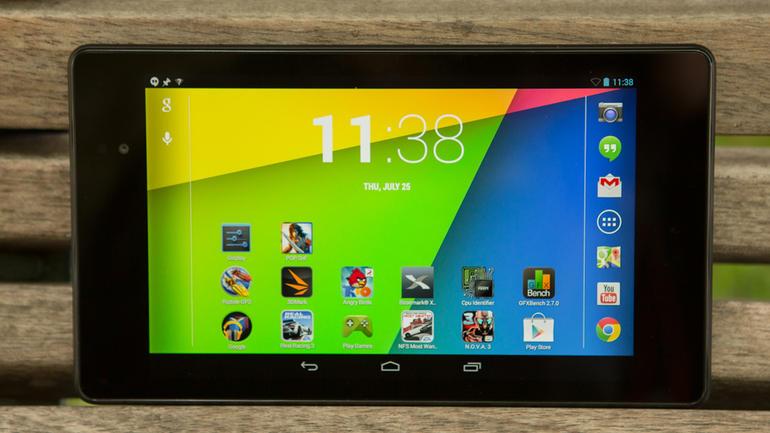 Бюджетный планшет. ASUS Nexus 7