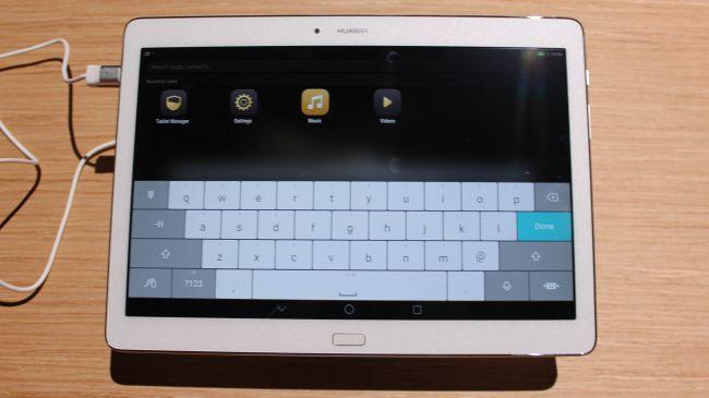 Обзор Huawei MediaPad M2 10.0. Клавиатура