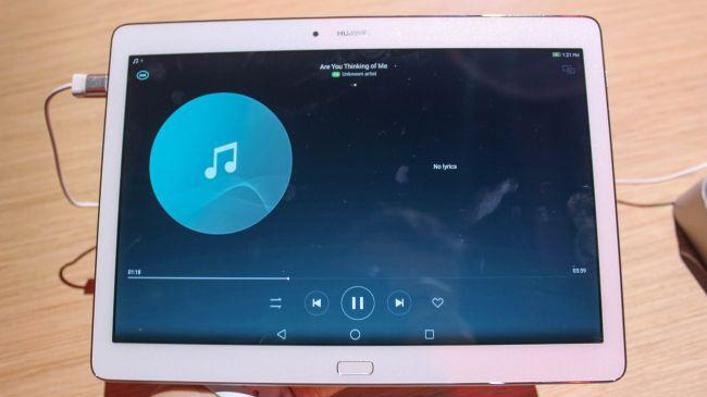 Обзор Huawei MediaPad M2 10.0. Музыка