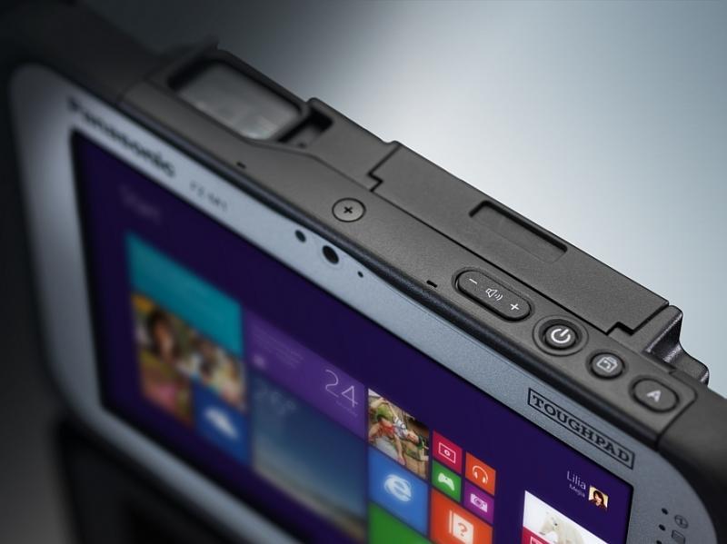 Планшет для работы. Panasonic ToughPad FZ-M1