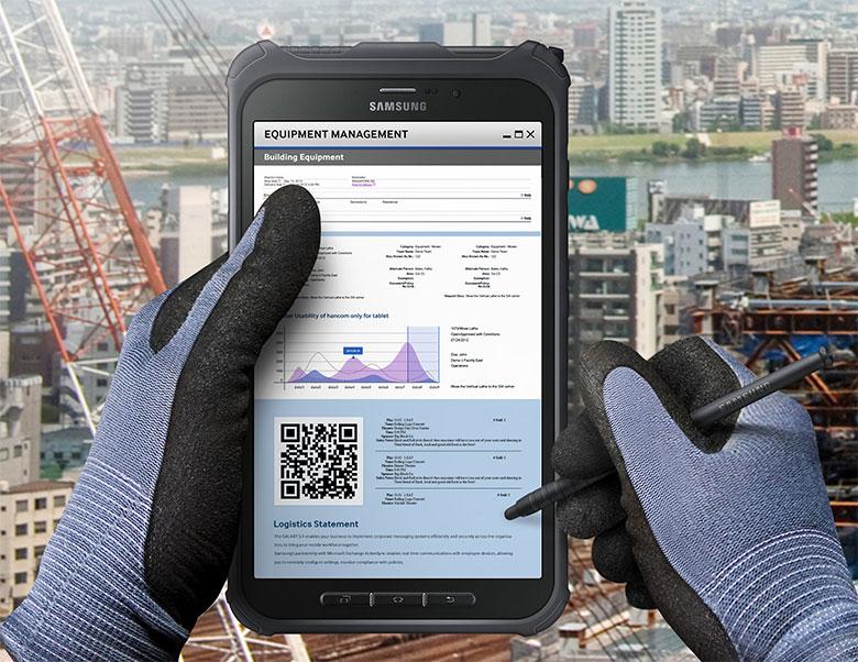Планшет для работы. Samsung Galaxy Tab Active