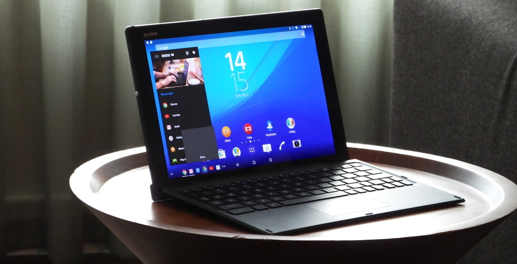 Планшет для работы. Sony Xeria Z4 Tablet