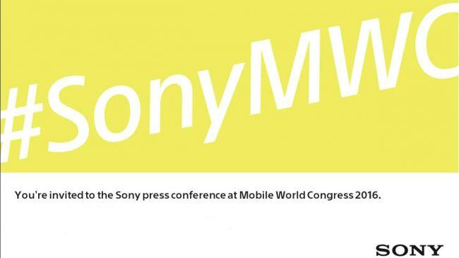 Приглашение Sony на MWC 2016.01