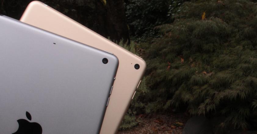 Камеры iPad Mini 4 и iPad Mini 3