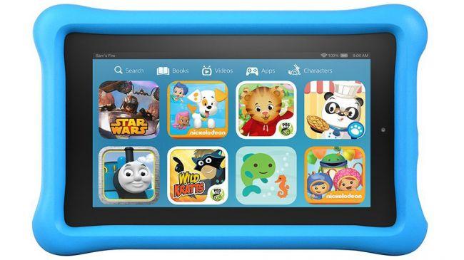 Планшет для ребенка. Amazon Kindle Kids Edition