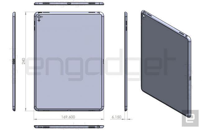 Чертежи iPad Air 3