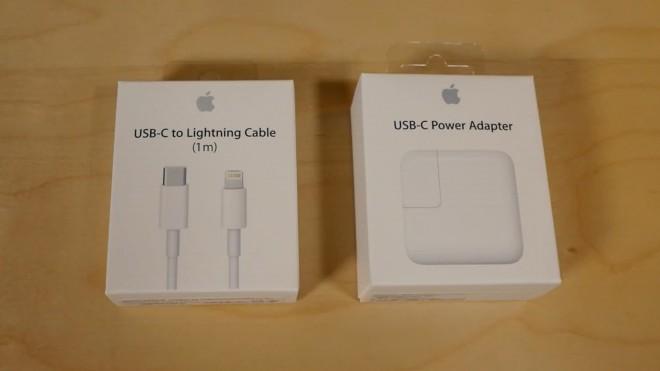 Адаптер и зарядное устройство для iPad Pro
