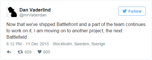 Выход Battlefield