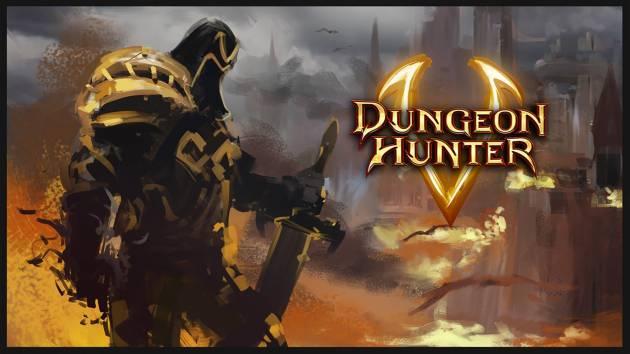 Игры на планшет - Dungeon Hunter 5