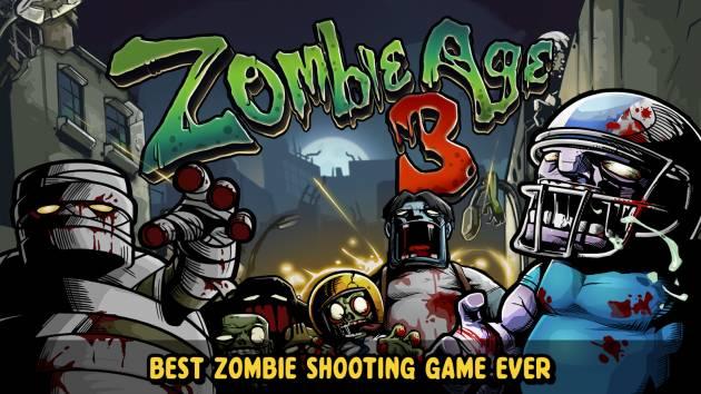 Игры на планшет - Zombie Age 3