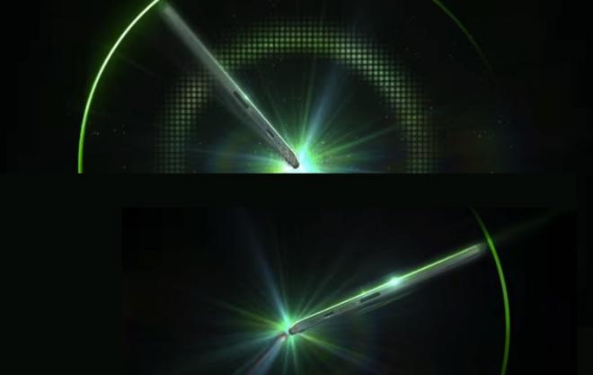 Изображения планшета или ноутбука из тизера Acer