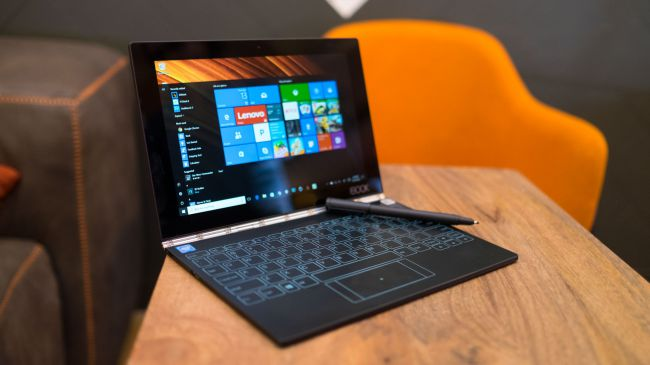Планшет на Windows - Lenovo Yoga Book