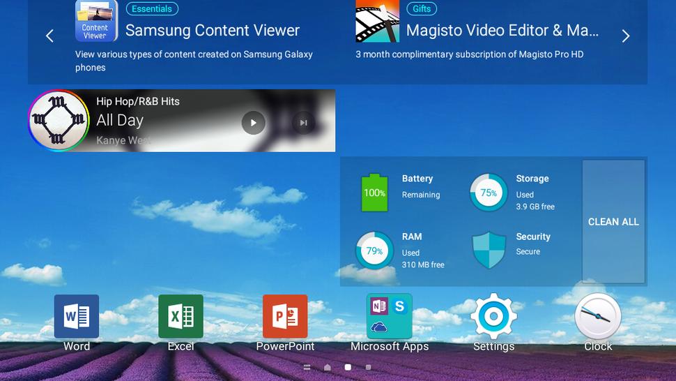 Пользовательский интерфейс Samsung TouchWiz