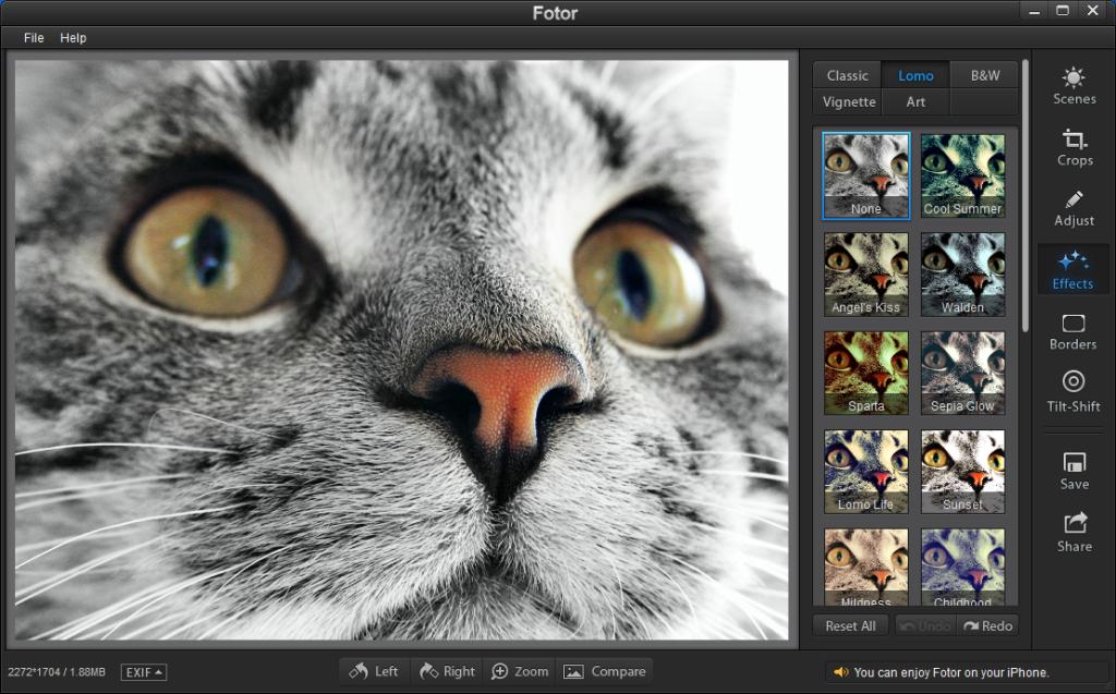 Приложение для редактирования фотографий - Fotor Photo Editor