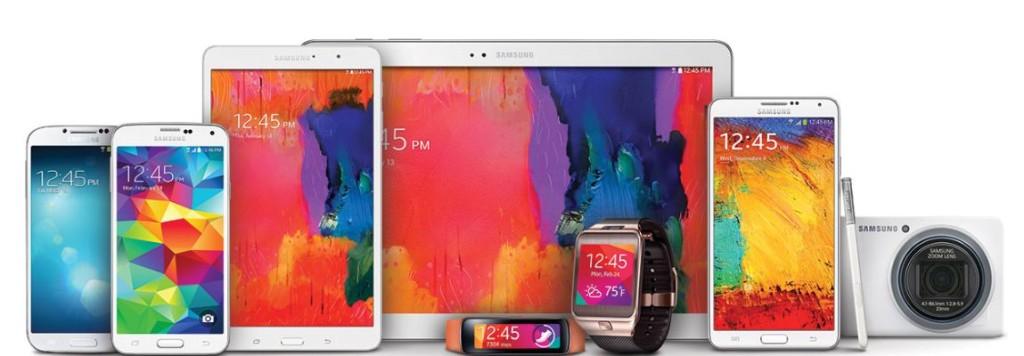 Семейство продуктов Samsung Galaxy