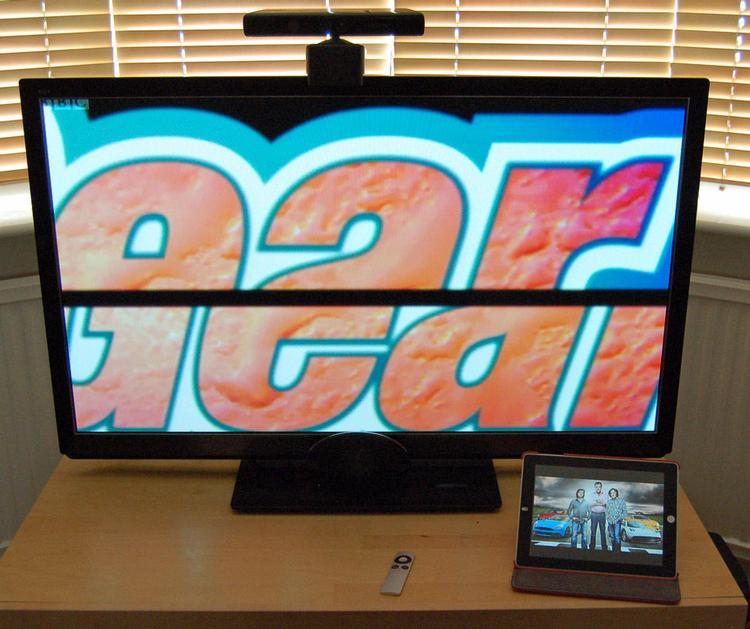Телевизор через iPad