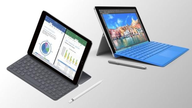 Apple iPad Pro 9.7 против Microsoft Surface Pro 4
