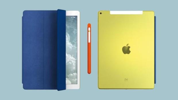 Желтый iPad Pro 12.9