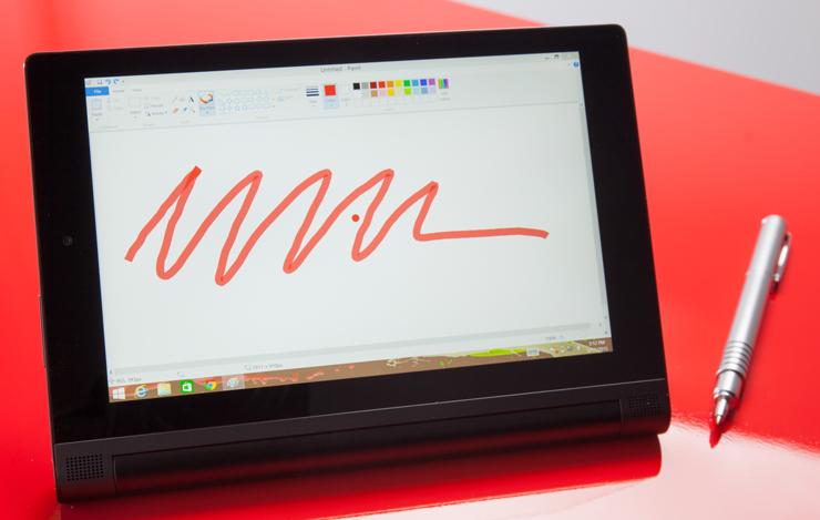 Маленький планшет - Lenovo Yoga Tablet 2