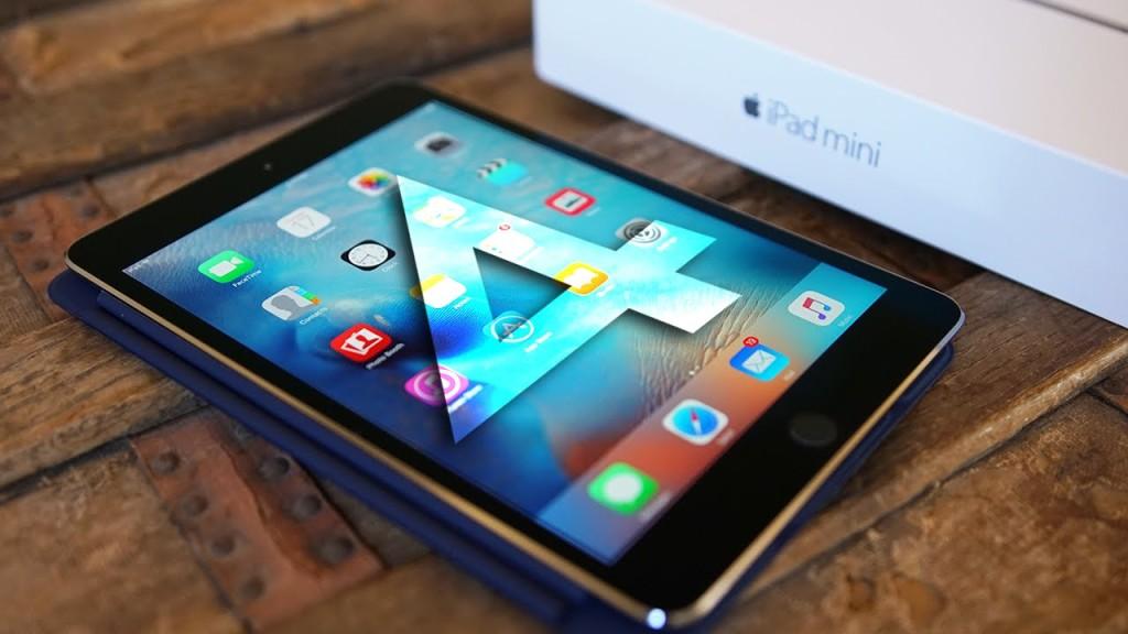 Маленький планшет - iPad Mini 4