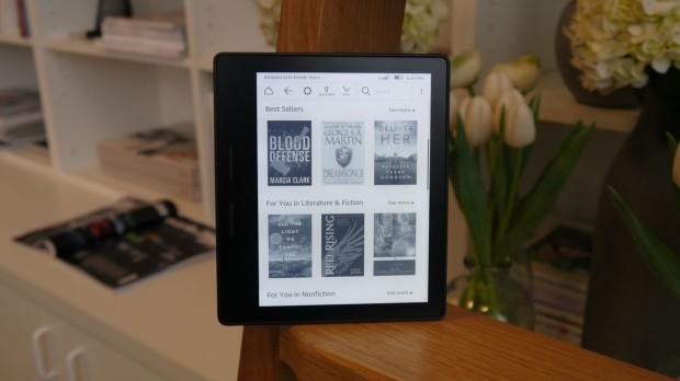 Обзор Amazon Kindle Oasis
