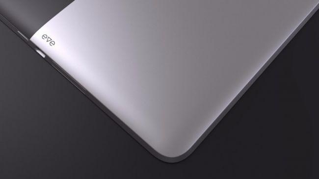Дизайн планшета Eve
