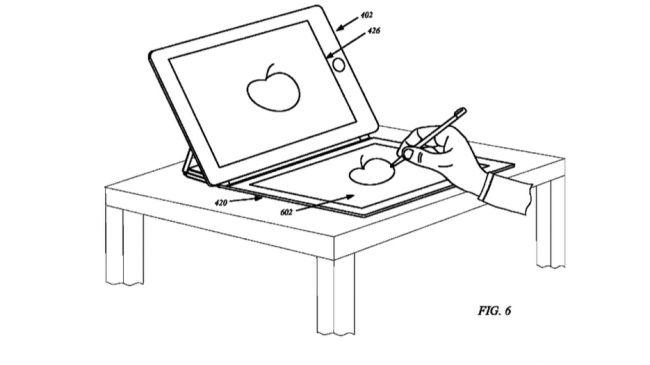 Патент Apple на чехлы iPad