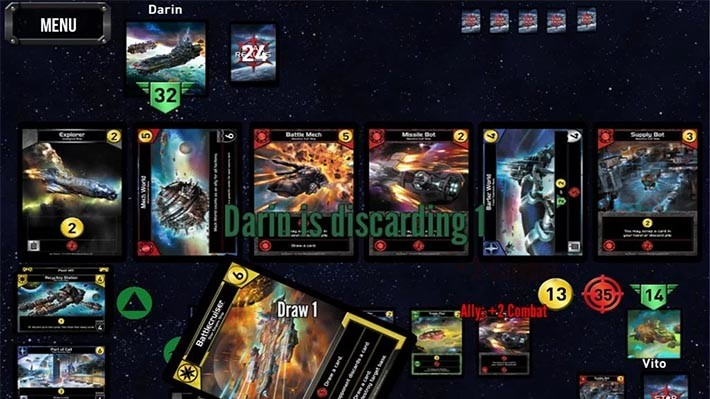 Карточная игра Star-Realms