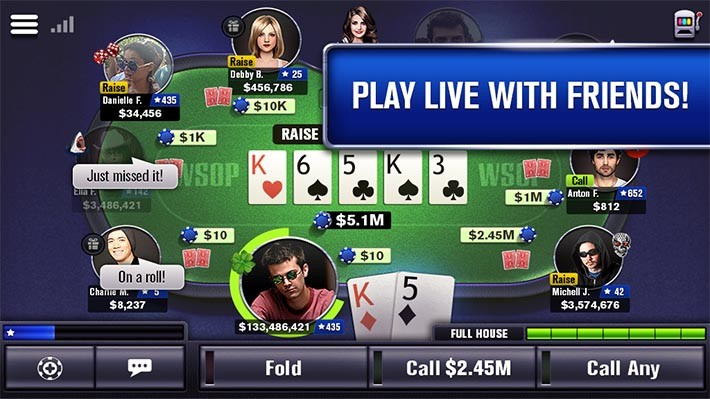Карточная игра World-Series-of-Poker