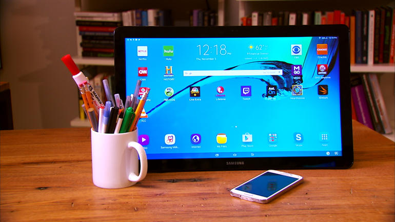 Обзор Samsung Galaxy View