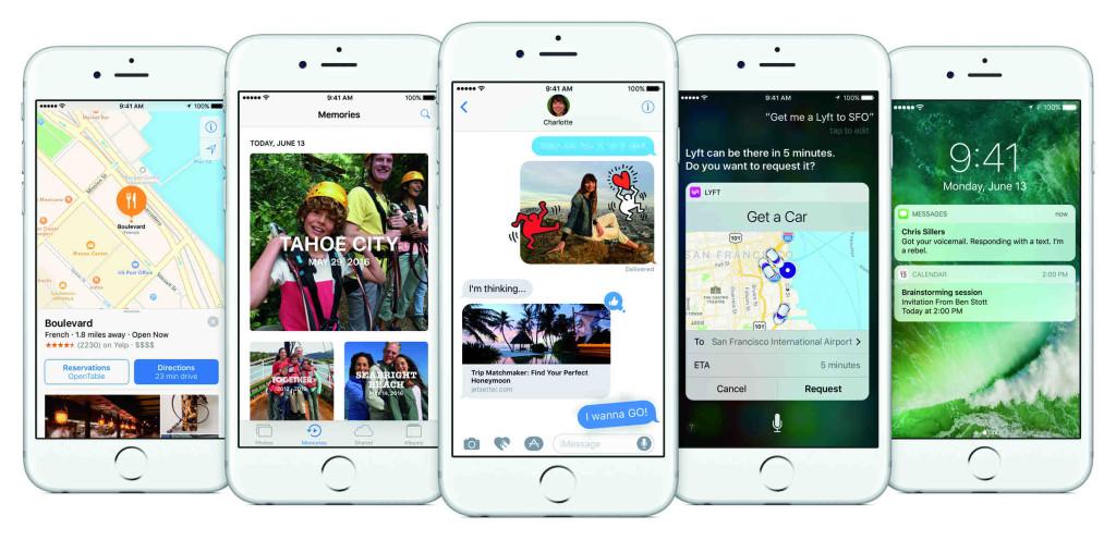 Обновление iOS 10. Developer Preview