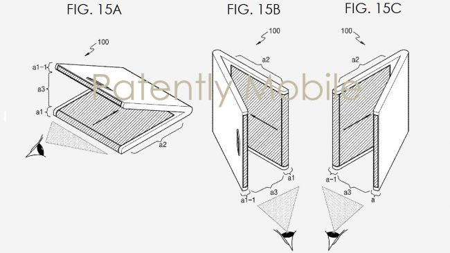 Складной планшет Samsung