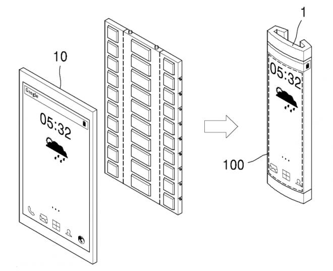 Устройства 3 в 1 от Samsung. Патенты