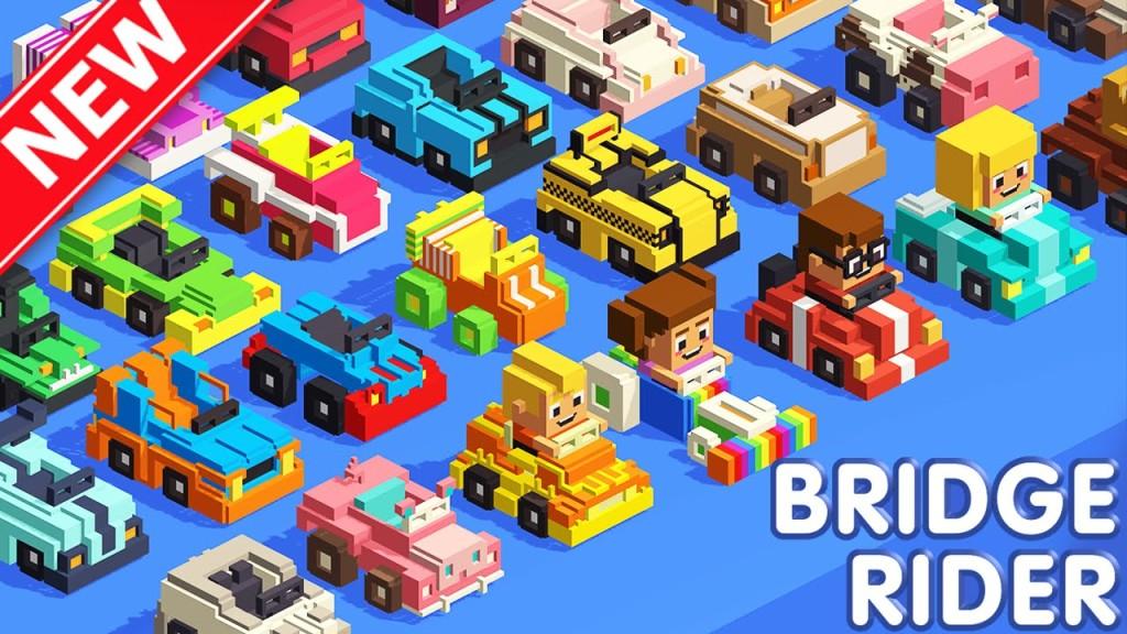 Bridge Rider. Игры для iPad