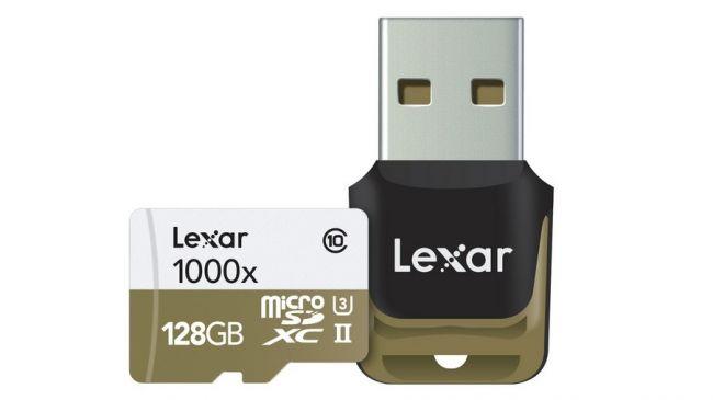 Карта памяти MicroSD Lexar 1000x