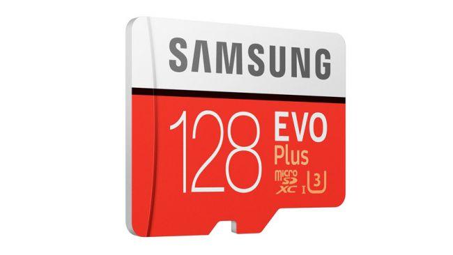 Карта памяти MicroSD Samsung Evo Plus