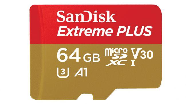 Карта памяти MicroSD SanDisk Extreme Plus