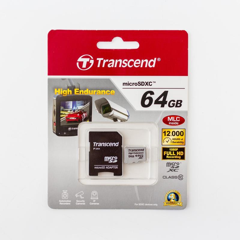 Лучшие карты памяти MicroSD - Transcend High Endurance