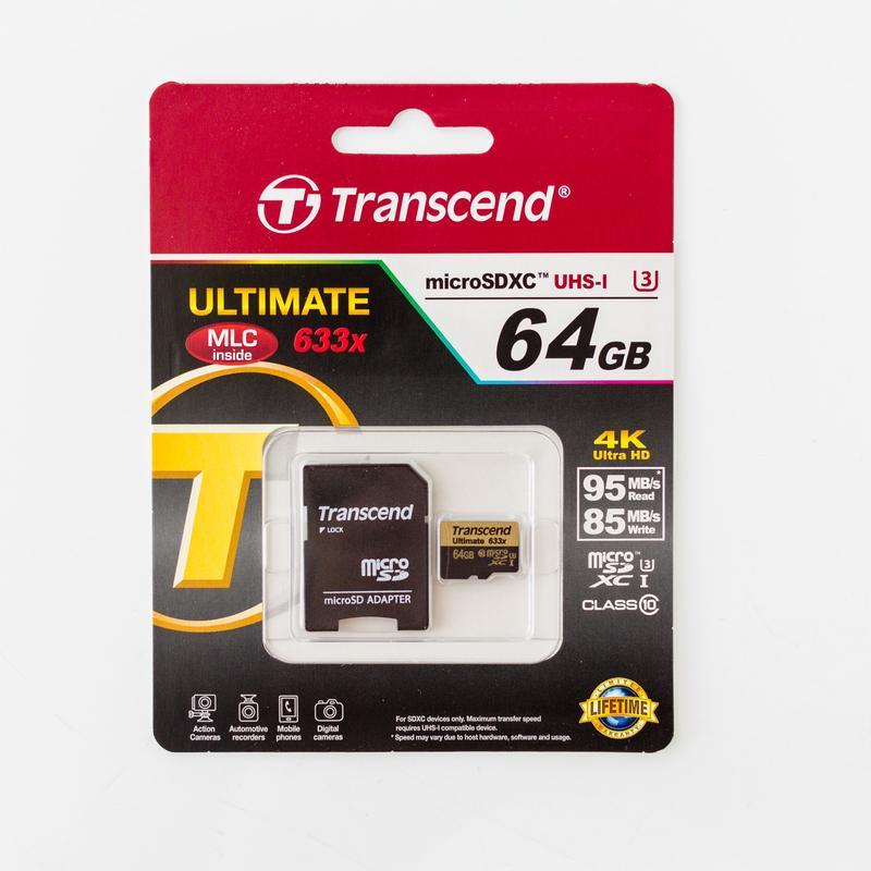 Лучшие карты памяти MicroSD - Transcend Ultimate