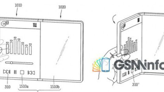 Патент планшета LG со складным экраном