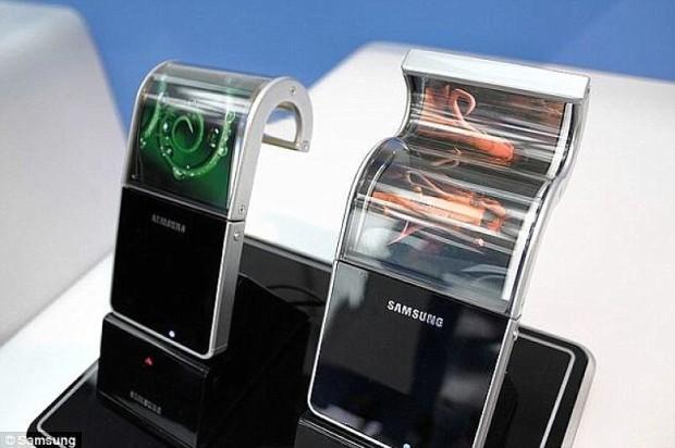 Сгибаемые экраны Samsung