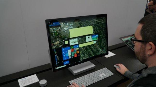 Обзор Microsoft Surface Studio