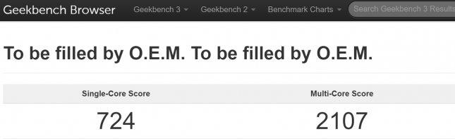 Результаты тестов Teclast X98 Plus (Geekbench 3)