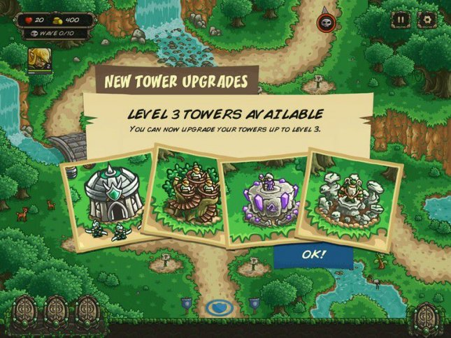 Геймплей Kingdom Rush Origins