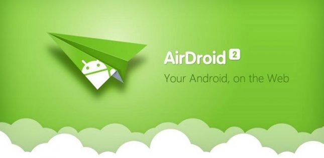 Программы для планшета - AirDroid