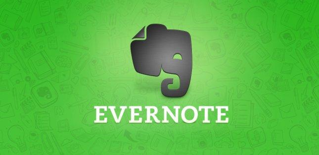 Программы для планшета - Evernote
